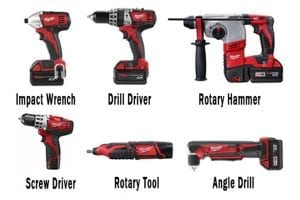 types of cordless drills