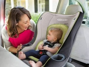 toddler in convertible car seat