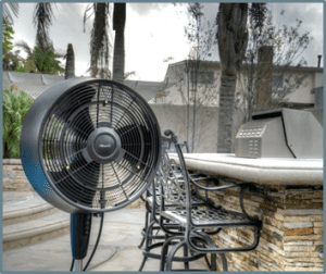 best outdoor misting fan