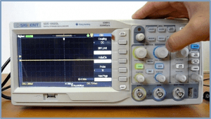 portable handheld oscilloscope