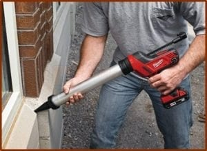 electric caulk gun
