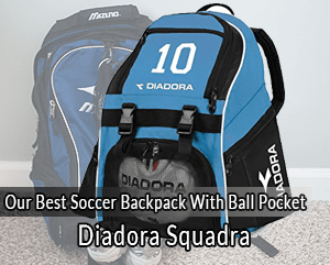 1c1119e7ec70 OUR TOP SOCCER BACKPACKS WITH BALL POCKET. Best Overall  Most Comfortable    Durable  Highest Capacity  Rain Protected  Highly Durable   Adjustable