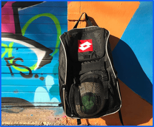 best soccer backpack with ball pocket