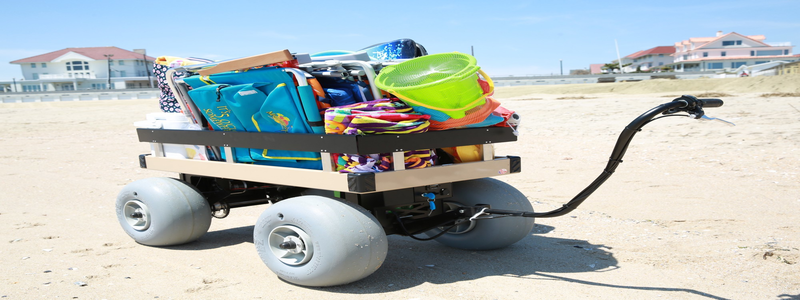 The 5 Best Big Wheeled Beach Carts – [Reviews & Rankings]