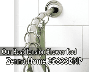 The 5 Best Tension Shower Rods Of 2019 Top Models Reviewed
