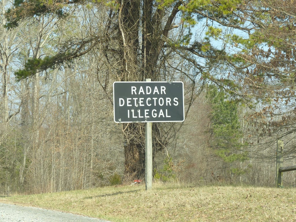 What States Are Radar Detectors Illegal >> Are Radar Detectors Legal In The Usa Rules For All 50 States