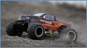 Biggest Nitro RC Truck