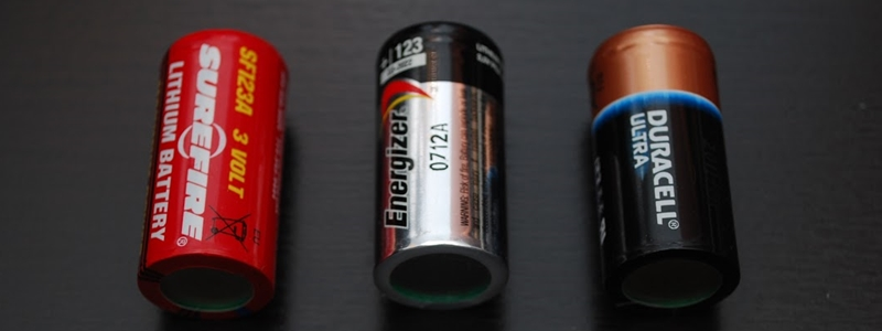 The 5 Best CR123A Batteries – [Reviews & Rankings]