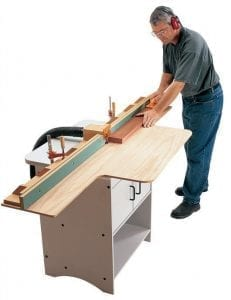 what is a router table