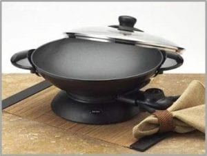 best electric wok