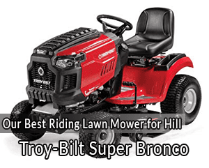 The 5 Best Riding Lawn Mowers for Hills [2019 Buyer's Guide]