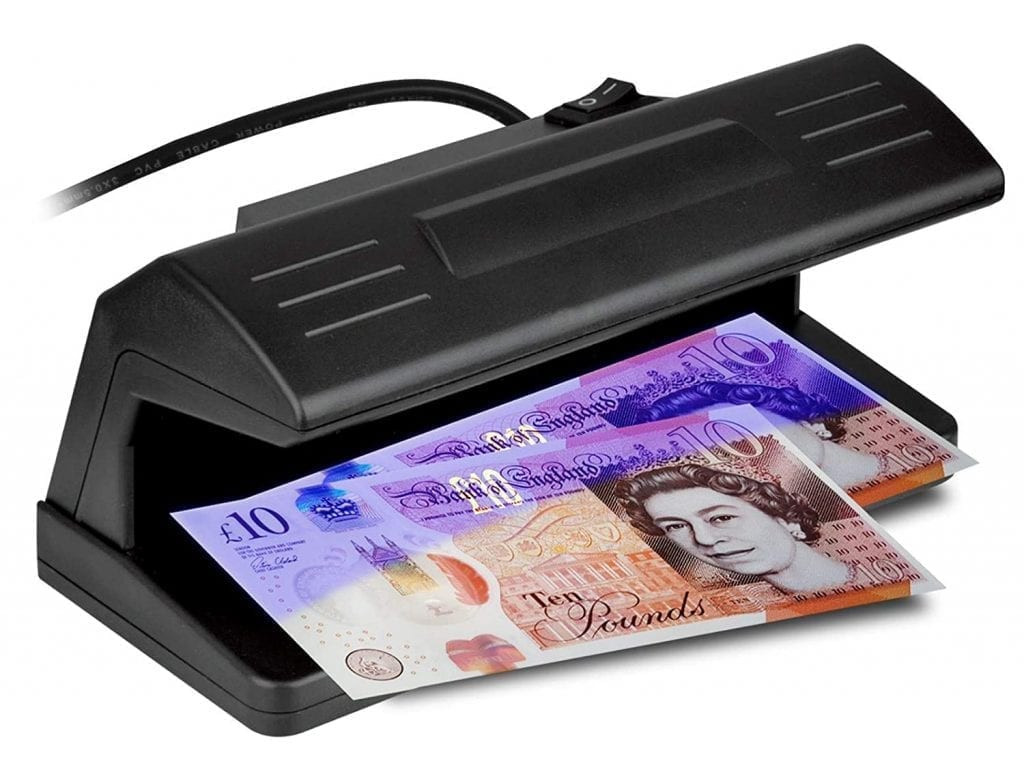 How Do Counterfeit Money Detectors Work
