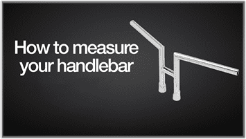 how to measure motorcycle bars