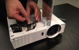 tv projector maintenance