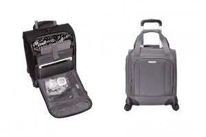 under seat luggage with wheels