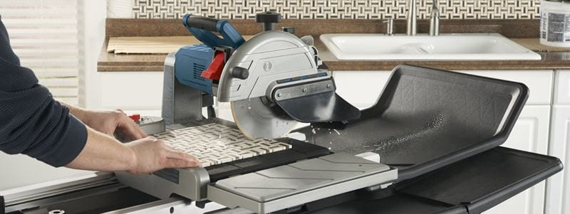 The Best 10-Inch Wet Tile Saws – [Reviewed & Ranked]