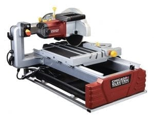 wet tile saw cost