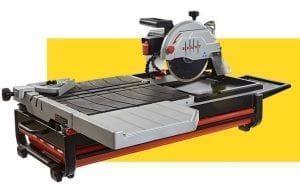 tabletop wet tile saw