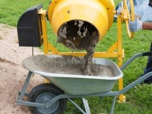 use cement mixer
