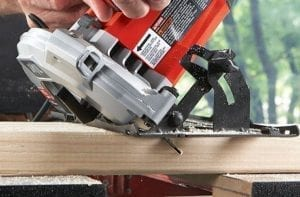straight flush cut saw electric