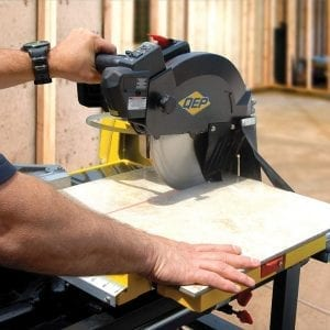 how to use tile saw