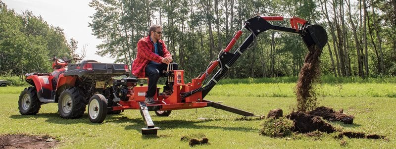 The 3 Best Towable Backhoes – [Top Reviews & Rankings]