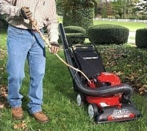how to use chipper shredder vacuum