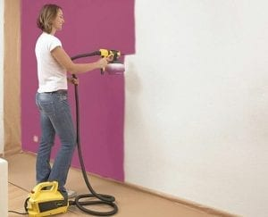 how to thin water based paint for spray gun