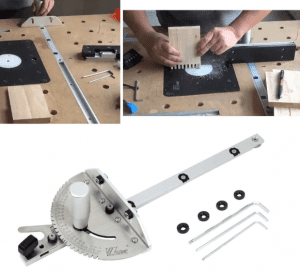 how to use miter gauge