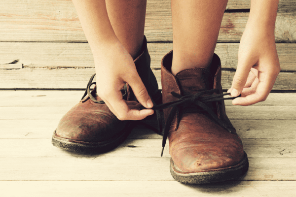 how to make shoes smaller
