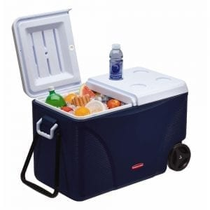 compact cooler with wheels