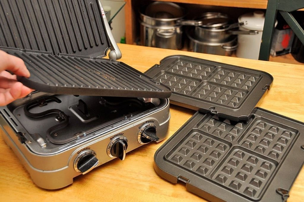 waffle sandwich maker removable plates cost