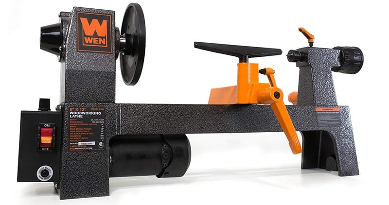 WEN 3420T Review – Is It A Solid Wood Lathe Machine?