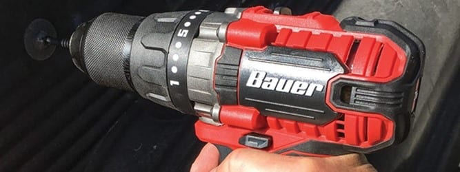 Bauer 20V Drill Review – Is It The Best 20V Drill Out?
