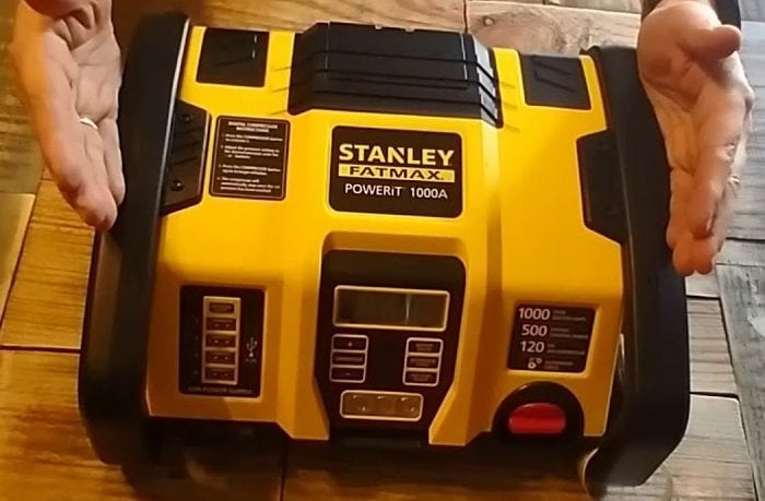 Stanley FatMax Powerit 1000A Review: Why We Love It For Campers