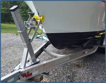 Boat Trailer Winch Stand