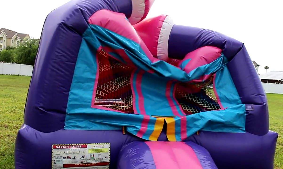 Blowing up a Bounce House