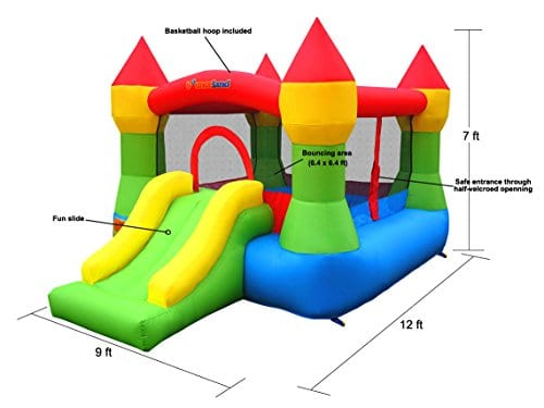 Kids Bounce Houses Dimensions