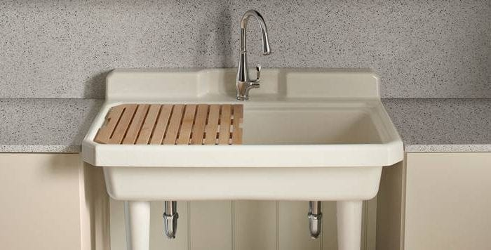 The 5 Best Utility Sinks for Your Laundry Room [Rankings and Reviews]